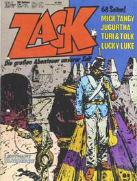 Cover Thumbnail for Zack (Koralle, 1972 series) #10/1977
