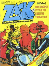 Cover for Zack (Koralle, 1972 series) #12/1977