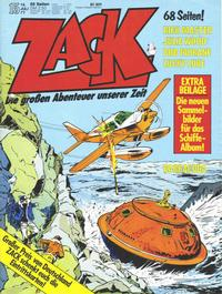 Cover Thumbnail for Zack (Koralle, 1972 series) #15/1977