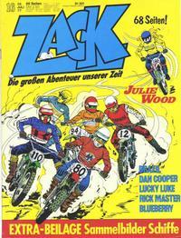 Cover Thumbnail for Zack (Koralle, 1972 series) #16/1977