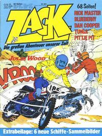 Cover Thumbnail for Zack (Koralle, 1972 series) #18/1977