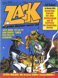 Cover Thumbnail for Zack (Koralle, 1972 series) #19/1977