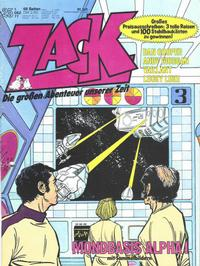 Cover Thumbnail for Zack (Koralle, 1972 series) #25/1977