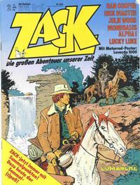 Cover Thumbnail for Zack (Koralle, 1972 series) #2/1978