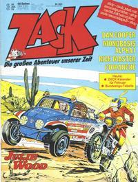 Cover Thumbnail for Zack (Koralle, 1972 series) #3/1978