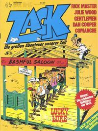 Cover Thumbnail for Zack (Koralle, 1972 series) #4/1978