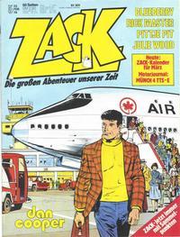 Cover Thumbnail for Zack (Koralle, 1972 series) #5/1978