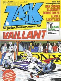 Cover Thumbnail for Zack (Koralle, 1972 series) #7/1978