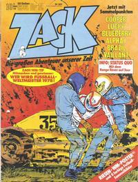 Cover Thumbnail for Zack (Koralle, 1972 series) #10/1978