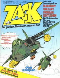 Cover Thumbnail for Zack (Koralle, 1972 series) #11/1978