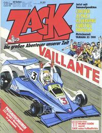 Cover Thumbnail for Zack (Koralle, 1972 series) #12/1978