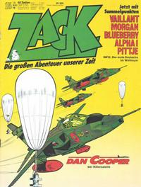 Cover Thumbnail for Zack (Koralle, 1972 series) #15/1978