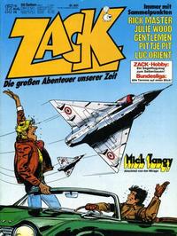Cover Thumbnail for Zack (Koralle, 1972 series) #17/1978