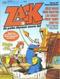 Cover Thumbnail for Zack (Koralle, 1972 series) #18/1978