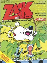 Cover Thumbnail for Zack (Koralle, 1972 series) #22/1978