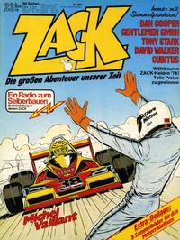 Cover Thumbnail for Zack (Koralle, 1972 series) #23/1978