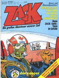 Cover Thumbnail for Zack (Koralle, 1972 series) #24/1978