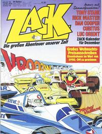 Cover Thumbnail for Zack (Koralle, 1972 series) #25/1978