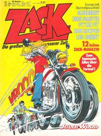 Cover Thumbnail for Zack (Koralle, 1972 series) #2/1979