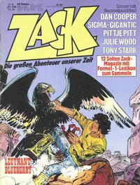 Cover Thumbnail for Zack (Koralle, 1972 series) #4/1979