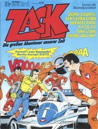 Cover Thumbnail for Zack (Koralle, 1972 series) #8/1979