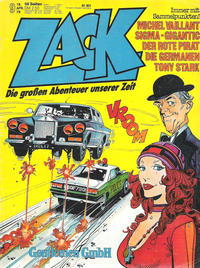 Cover Thumbnail for Zack (Koralle, 1972 series) #9/1979
