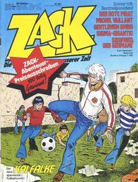 Cover Thumbnail for Zack (Koralle, 1972 series) #10/1979