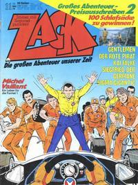 Cover Thumbnail for Zack (Koralle, 1972 series) #11/1979