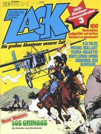 Cover Thumbnail for Zack (Koralle, 1972 series) #12/1979