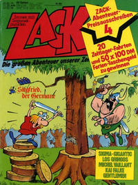 Cover for Zack (Koralle, 1972 series) #13/1979