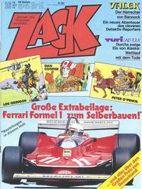Cover Thumbnail for Zack (Koralle, 1972 series) #16/1979