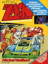 Cover Thumbnail for Zack (Koralle, 1972 series) #2/1980