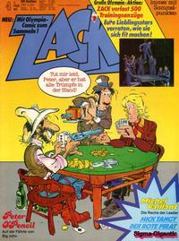 Cover Thumbnail for Zack (Koralle, 1972 series) #4/1980