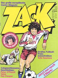 Cover Thumbnail for Zack (Koralle, 1972 series) #11/1980