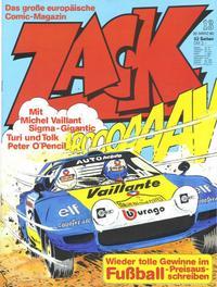 Cover Thumbnail for Zack (Koralle, 1972 series) #13/1980