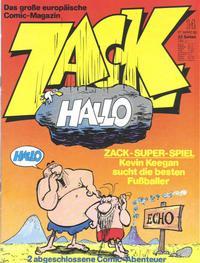 Cover Thumbnail for Zack (Koralle, 1972 series) #14/1980