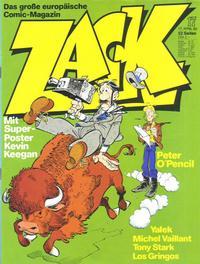 Cover Thumbnail for Zack (Koralle, 1972 series) #17/1980
