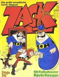 Cover Thumbnail for Zack (Koralle, 1972 series) #18/1980