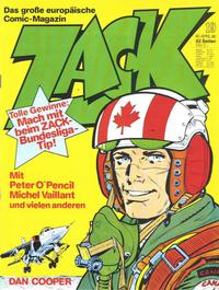 Cover Thumbnail for Zack (Koralle, 1972 series) #19/1980