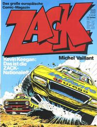 Cover Thumbnail for Zack (Koralle, 1972 series) #20/1980