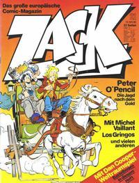 Cover Thumbnail for Zack (Koralle, 1972 series) #21/1980