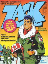 Cover Thumbnail for Zack (Koralle, 1972 series) #24/1980