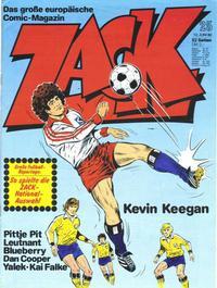 Cover Thumbnail for Zack (Koralle, 1972 series) #25/1980