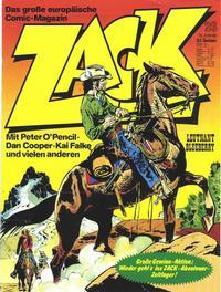 Cover Thumbnail for Zack (Koralle, 1972 series) #26/1980