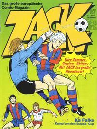 Cover Thumbnail for Zack (Koralle, 1972 series) #27/1980