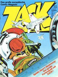 Cover Thumbnail for Zack (Koralle, 1972 series) #28/1980