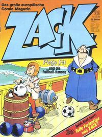 Cover Thumbnail for Zack (Koralle, 1972 series) #29/1980