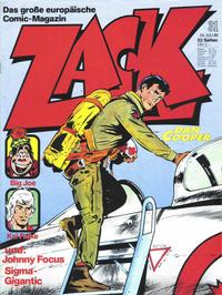 Cover Thumbnail for Zack (Koralle, 1972 series) #31/1980