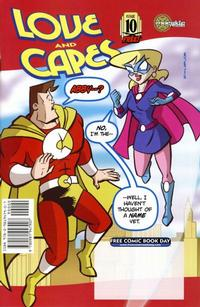 Cover Thumbnail for Love and Capes [Free Comic Book Day Edition] (Maerkle Press, 2007 series) #10