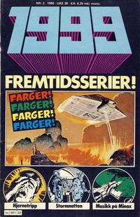 Cover Thumbnail for 1999 (Semic, 1980 series) #2/1980
